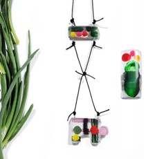 RMX Art Recycling nyaklánc